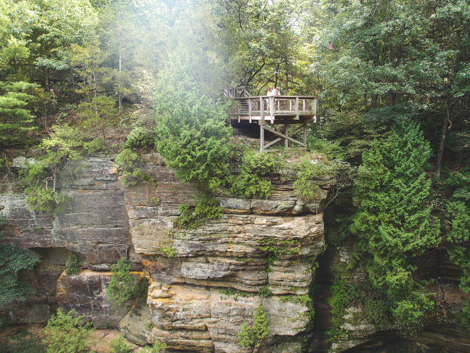 Starved Rock State Park Hiking Adventures