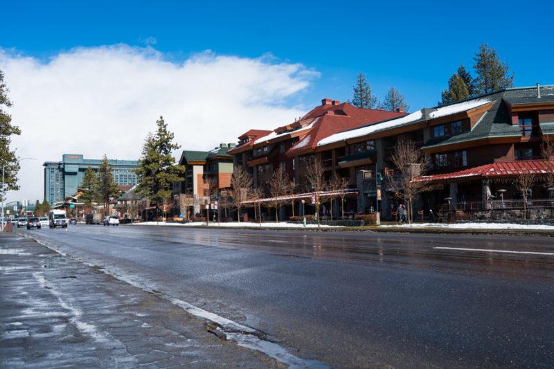 Winter Time In Lake Tahoe