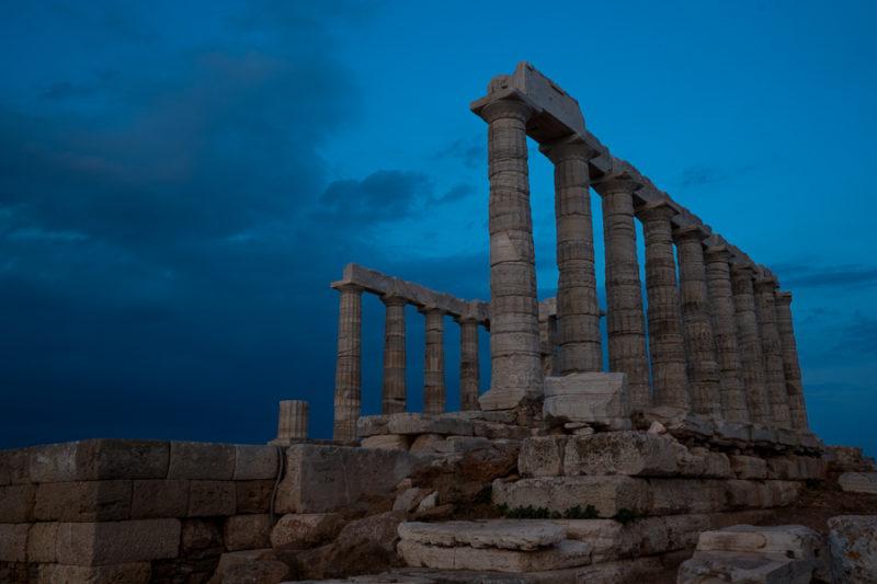 Sunset At The Temple of Poseidon