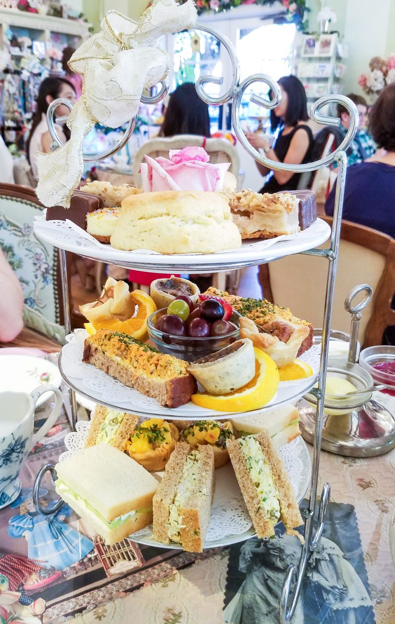 Afternoon Tea – The English Rose